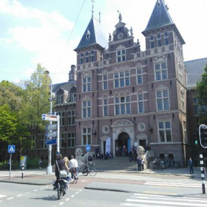 Dutch Tropical Institute building in Amsterdam