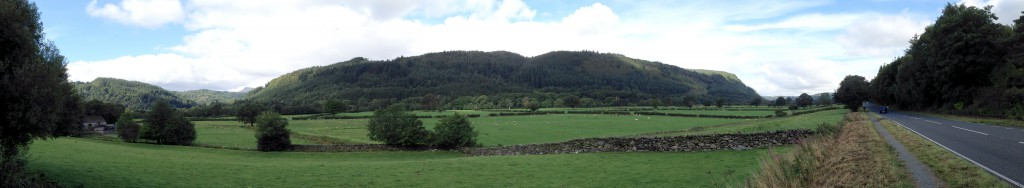 Countryside around Betws-y-Coed