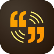 Icon for the Adobe Voice app